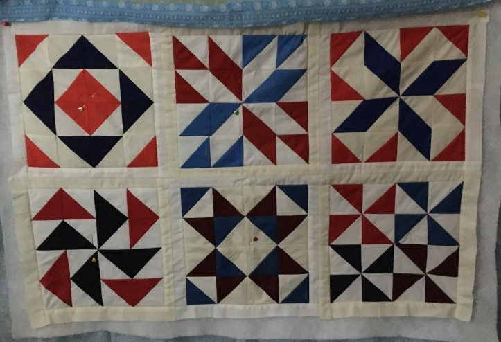 American Stars Quilt - unfinished.JPG