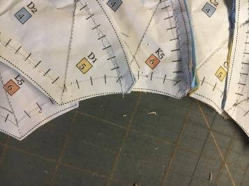 Dahlia step 16 final trim detail