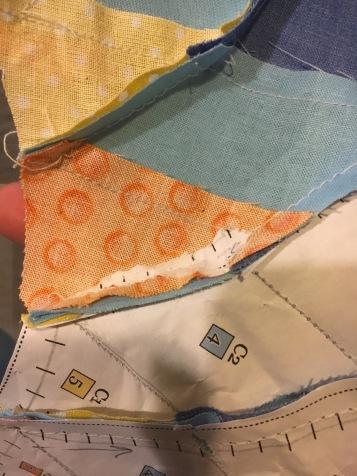 Dahlia step 17 stubborn paper