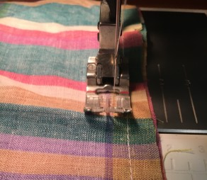 Drawstring Bag sewing 2