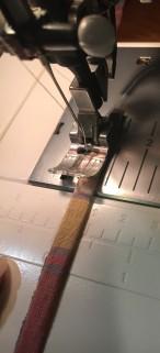 Drawstring Bag string step 4