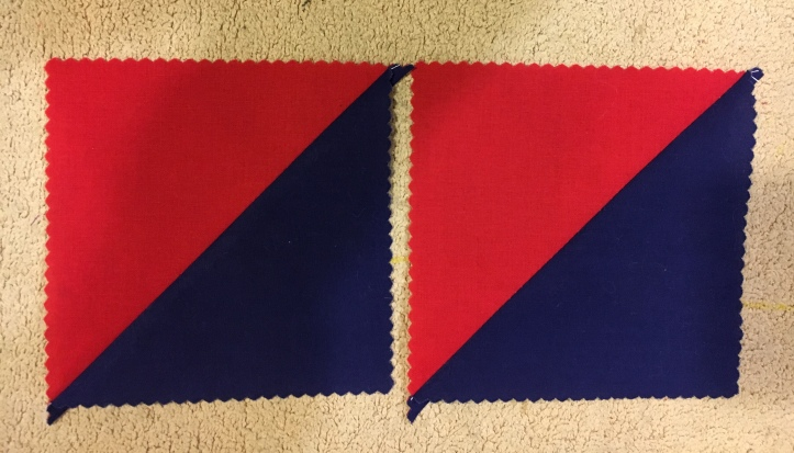 Half Square Triangles 2 - finished
