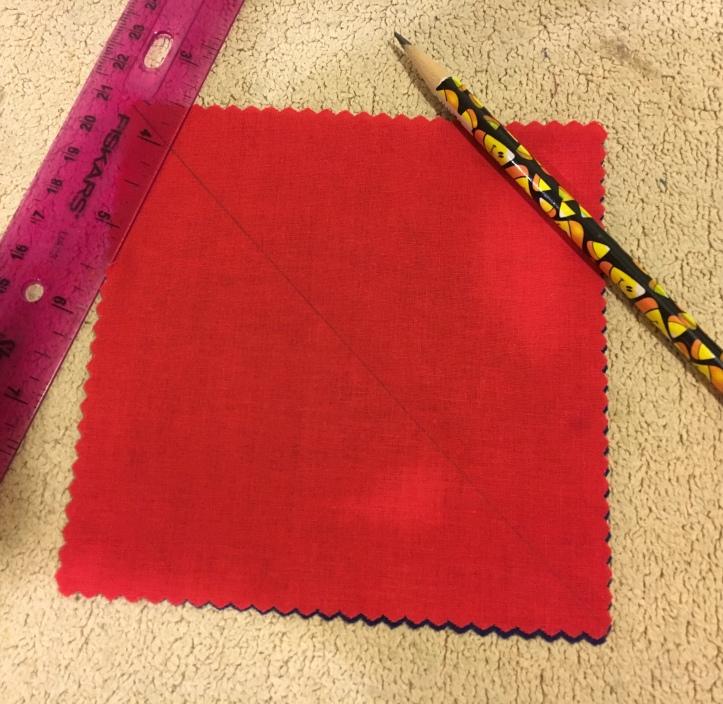 Half Square Triangles 2 - line