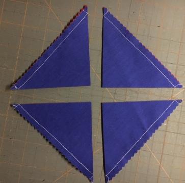 Half Square Triangles 4 - cut b