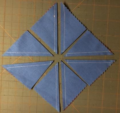 Half Square Triangles 8 - cut b
