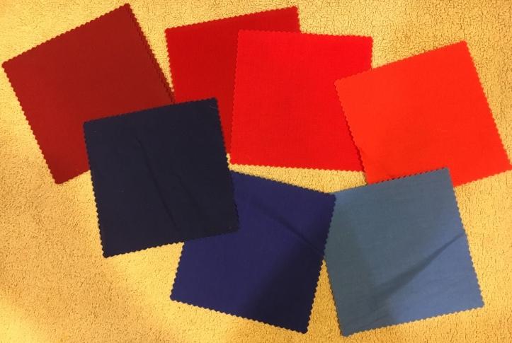 Half Square Triangles fabric1