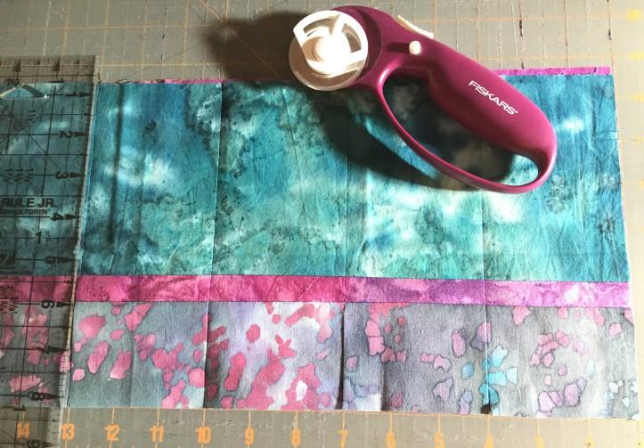 PB&J Quilt - cut strips again