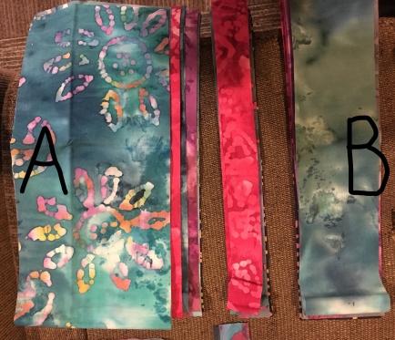 PB&J Quilt - organized strips_LI