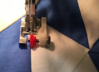 stitch in the ditch step 2