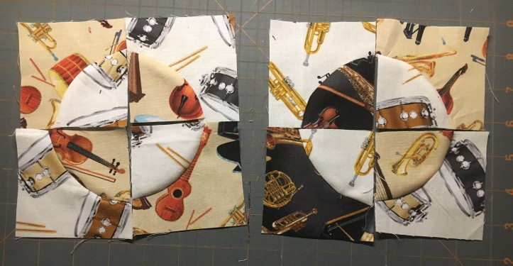 Music Mug Rug - fabric choices.JPG