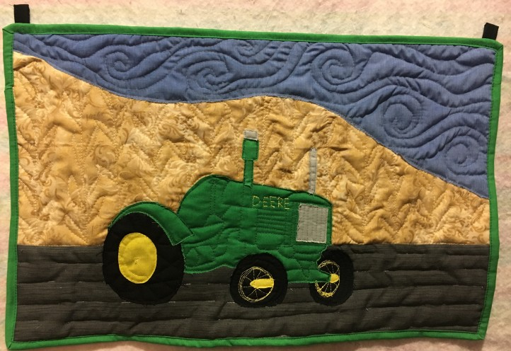 Roger's tractor - finished!