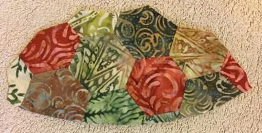 Turtle Row by Row - shell folding 4