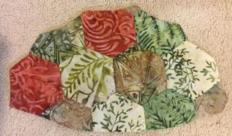 Turtle Row by Row - shell folding 5